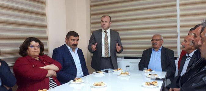 AĞIŞ'dan CHP'ye Ziyaret