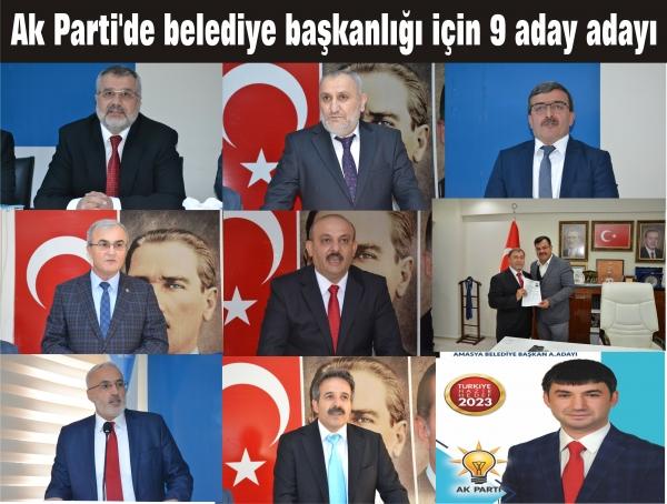 AKP'DE BELEDİYE BAŞKANLIĞI İÇİN 9 ADAY ADAYI