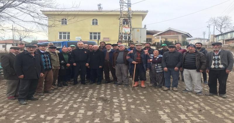 Albay YILDIZ Köy Muhtarları ve Köy Sakinleriyle Bir Araya Geldi