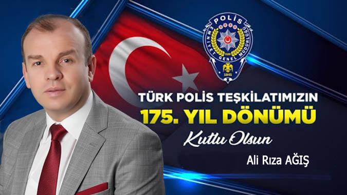 Ali Rıza AĞIŞ - Polis Teşkilatının Kuruluşun 175. Yıl Dönümü Kutlaması
