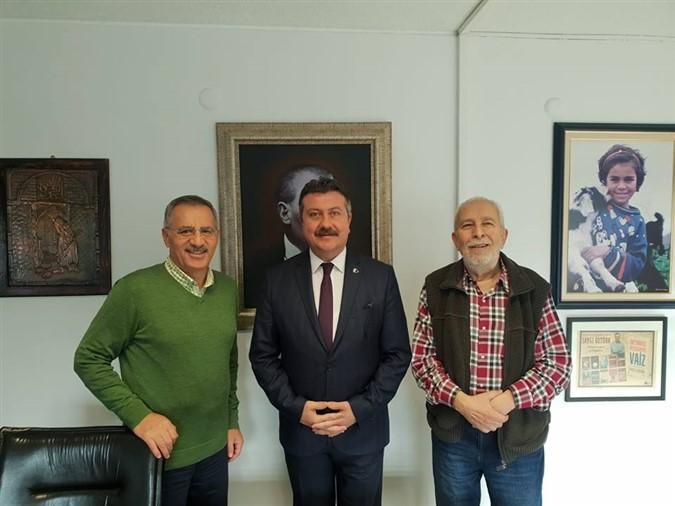 Alp Kargı'dan Sözcü Gazetesine Ziyaret