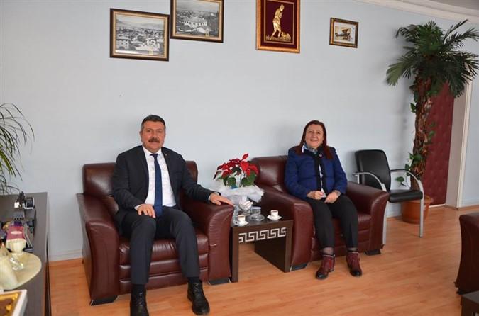 Alp Kargı'dan Zehra Özyol'a Ziyaret