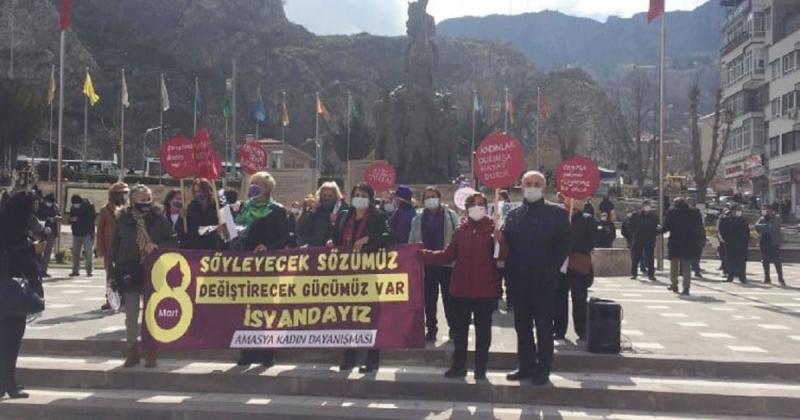 Amasya A.D.D'den 8 Mart Dünya Kadınlar Günü Basın Açıklaması