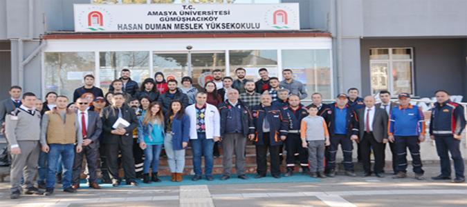 Amasya AFAD Uzmanları'ndan Temel Afet Bilinci Eğitimi