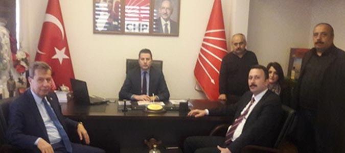 Amasya Barosundan CHP İl Başkanlığına  Ziyaret