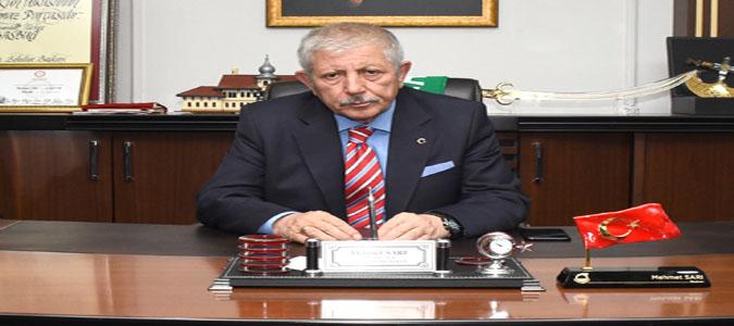 Amasya Belediye Başkanı Mehmet Sarı'nın 19 Mayıs Mesajı