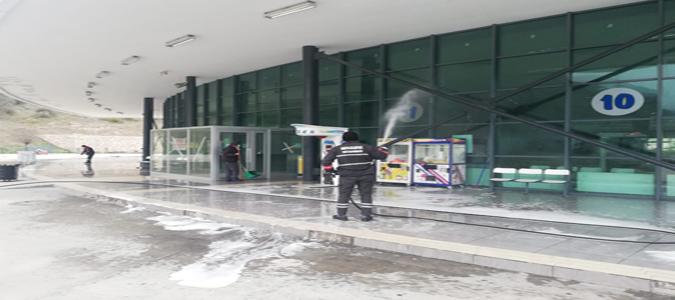 Amasya Belediyesi Koronavirüse Karşı Mücadelesini Sürdürüyor