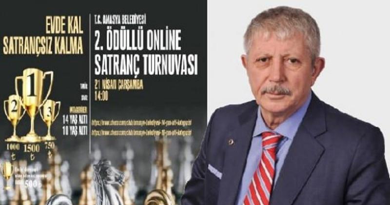Amasya Belediyesi Ödüllü Online Satranç Turnuvasının 2.'sini Düzenliyor
