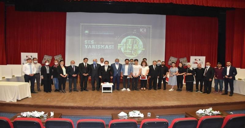 Amasya Belediyesi  Tarafından Düzelenen Ses Yarışmasında Ödüller Sahiplerini Buldu
