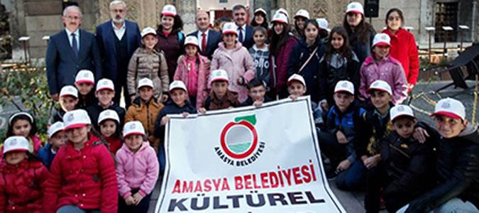 Amasya Belediyesinden öğrencilere Çanakkale gezisi