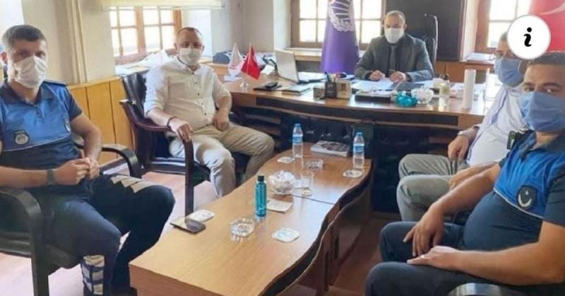 Amasya CHP'den Zabıta Haftası Kutlaması