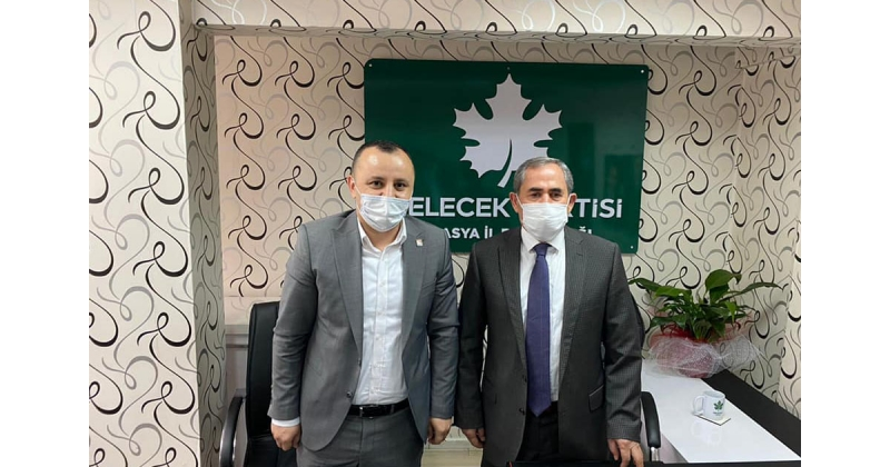 Amasya CHP İl Başkanlığı Ziyaretlerde Bulundu