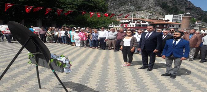 Amasya CHP İl Başkanlığı 30 Ağustos Basın Açıklaması