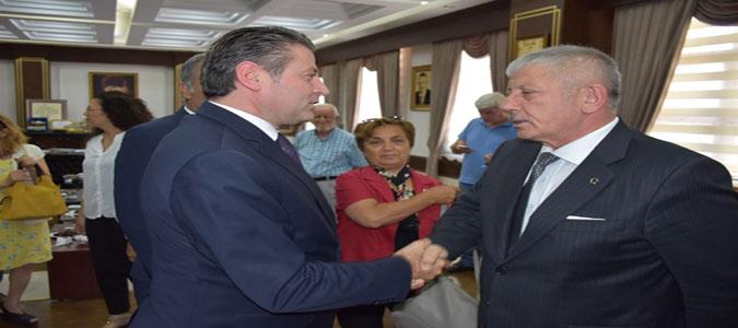 Amasya CHP İl Başkanlığından Başkan Sarı'ya Ziyaret