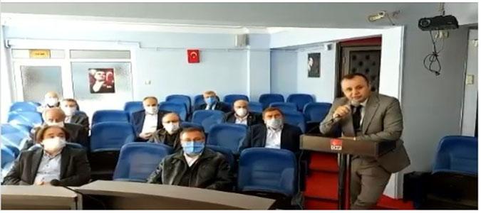 Amasya CHP İl Örgütü'nden Basın Açıklaması; 'Çeltek Maden Şehitlerimizin Kemiklerini Sızlatıyorlar '