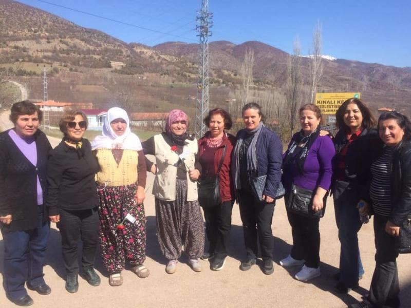 Amasya CHP Köylü Kadınları Unutmadı