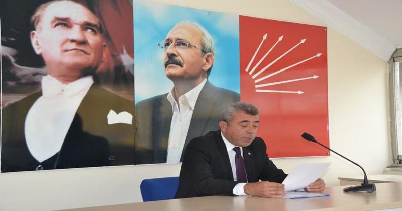 Amasya CHP Merkez İlçe Başkanı Arif Ferahoğlu 19 Mayıs Mesajı
