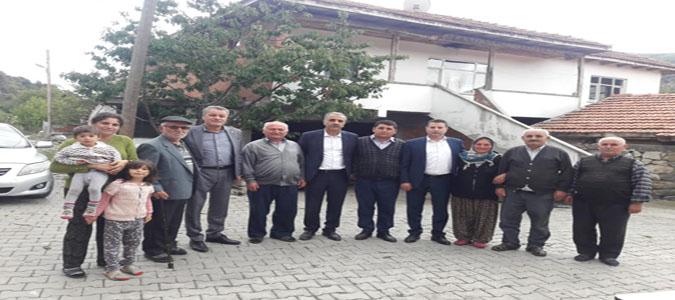 Amasya CHP Merkez İlçe Başkanlığı Köy Ziyaretlerini Sürdürüyor