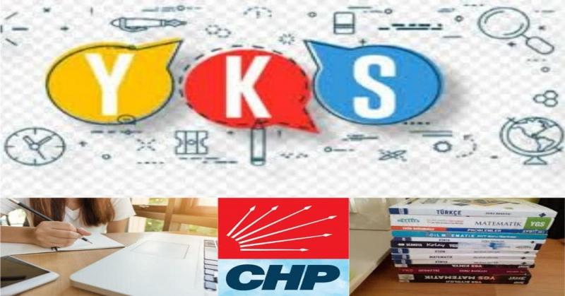 Amasya CHP'den Ücretsiz Y.K.S Deneme sınavı