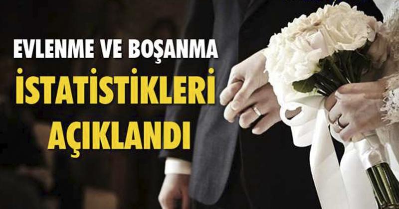 Amasya' da 2020 Yılında Bin 827 Evlilik, 456 boşanma Gerçekleşti