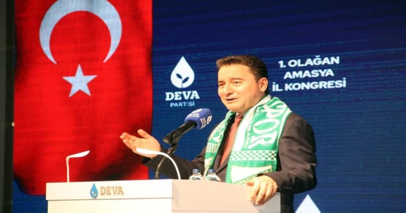 Amasya DEVA Partisi 1´inci Olağan İl Kongresini Yaptı