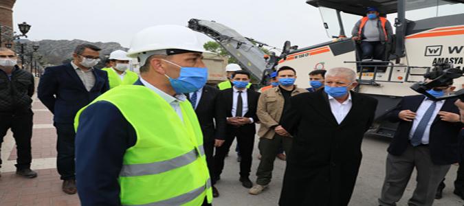 Amasya Hükümet Köprüsü Genişletiliyor