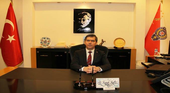 Amasya İl Emniyet Müdürlüğüne Ali Kemal Kurt atandı