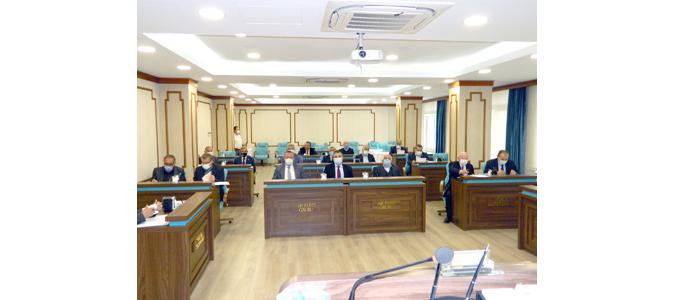 Amasya İl Genel Meclisi İhtisas Komisyonları Seçimi Yapıldı