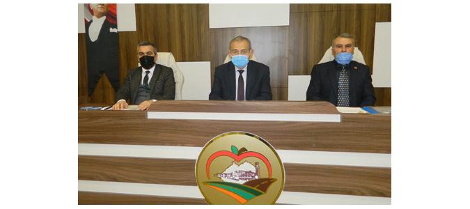 Amasya İl Genel Meclisi 2021 Şubat Ayı İlk Toplantısını Gerçekleştirdi