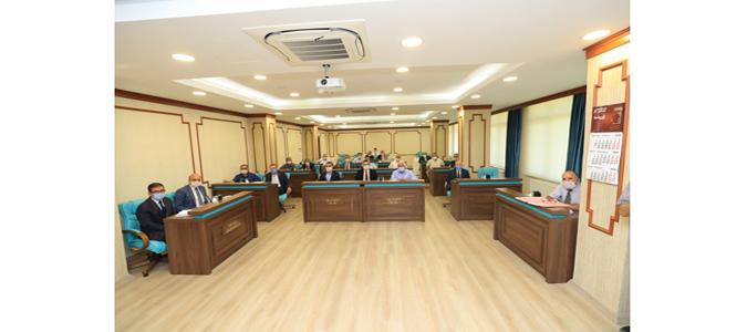 Amasya İl Genel Meclisi Eylül Ayı Dördüncü Birleşimi Yapıldı