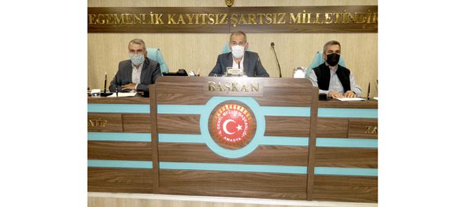 Amasya İl Genel Meclisi Ekim Ayı Dördüncü Toplantısı Yapıldı