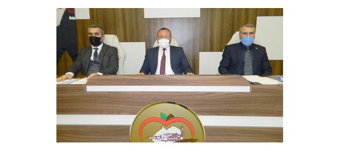 Amasya İl Genel Meclisi Şubat Ayı 3. Birleşimi Gerçekleştirildi