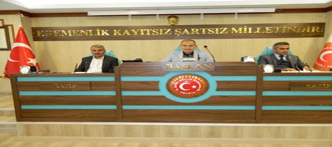 Amasya İl Genel Meclisi 2020 Şubat Ayı ilk Toplantısı Yapıldı