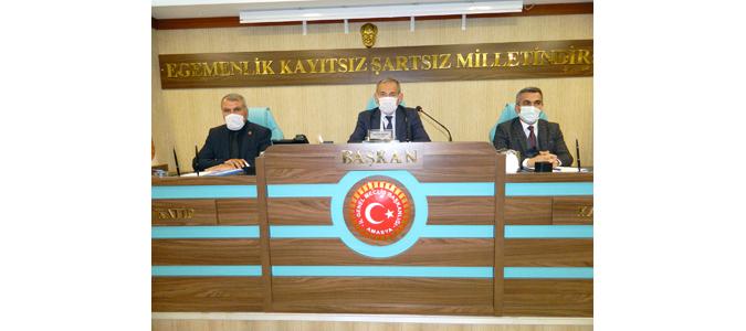 Amasya İl Genel Meclisi 2021 Nisan Ayı Üçüncü Toplantısı Gerçekleştirildi