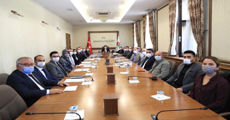 Amasya İl İstihdam ve Mesleki Eğitim Kurulu Toplantısı Yapıldı