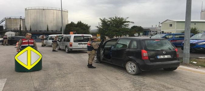 Amasya İl Jandarma Komutanlığı'ndan 'Türkiye Huzur Güven Uygulaması'