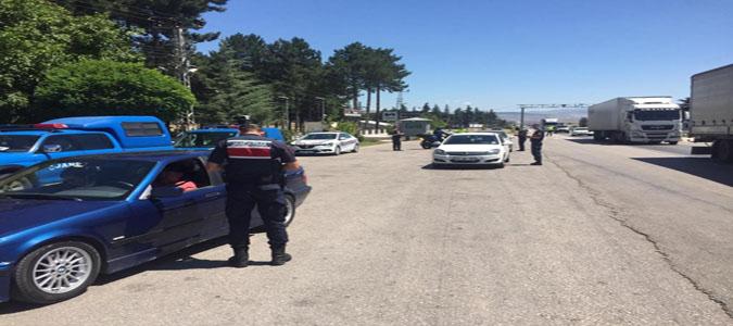 Amasya İl Jandarma Komutanlığı Ekipleri Huzur ve Güven Uygulaması Gerçekleştirdi