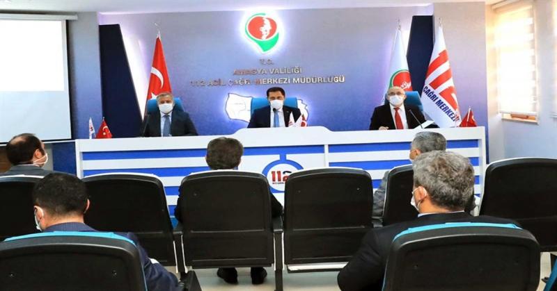 Amasya İl Koordinasyon Kurulu Toplantısı Yapıldı
