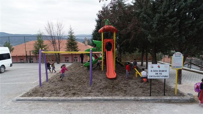 Amasya İl Özel İdaresi Çocuklara Oyun Parkı Kuruyor