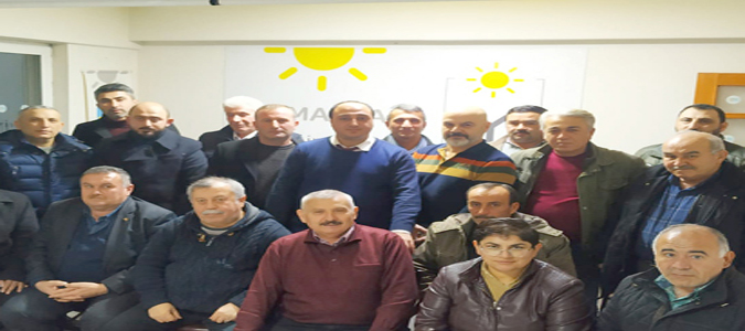 Amasya İYİ Parti Merkez İlçe Başkanlığı'na Coşkun Cırıkcı Genel Merkez Kararıyla Tekrar Atandı