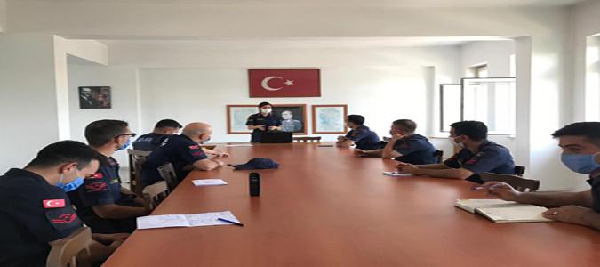 Amasya Jandarma'dan Aile İçi Şiddetle Mücadelede Personel Eğitimi