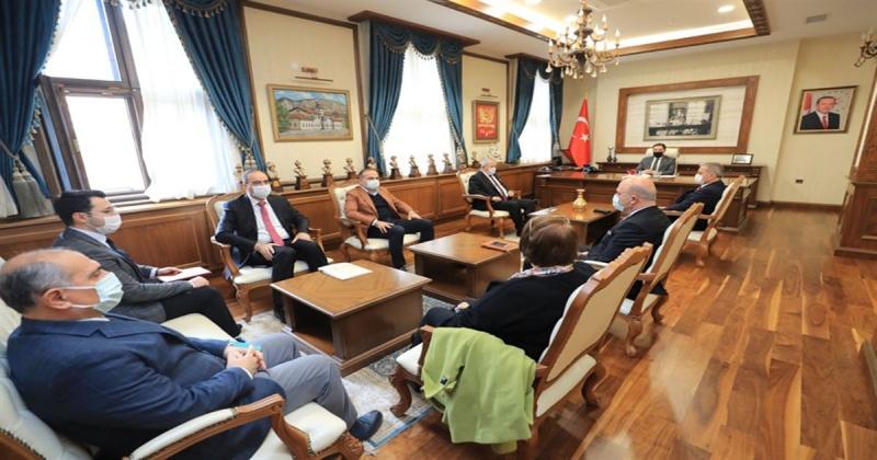 Amasya Kültür ve Turizm Üst Kurulu Vali Masatlı Başkanlığında Toplandı