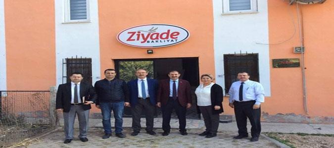 Amasya 'KÜSİ', Firma Ziyaretleri Devam Ediyor