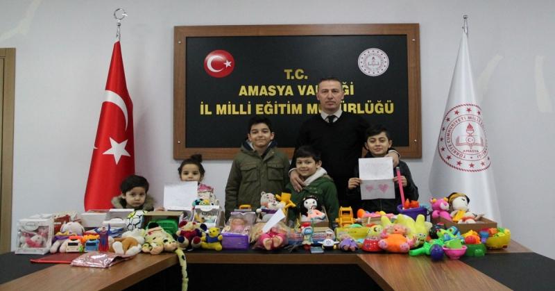 Amasya MEB'den 'Bir Oyuncak Bir Mektup' Kampanyası