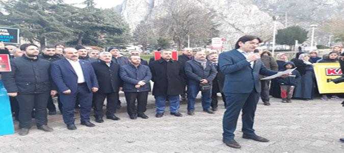 Amasya Memur-Sen 'Emperyalizmi Mazlumların Dayanışması Durdurur'