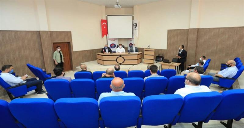 Amasya OSB Müteşebbis Heyeti Toplantısı Gerçekleştirildi