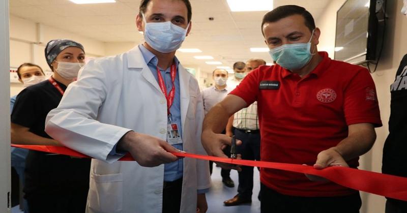 Amasya Sabuncuoğlu Şerefeddin Eğitim ve Araştırma Hastanesine Ek Yoğunbakım Ünitesi Açıldı