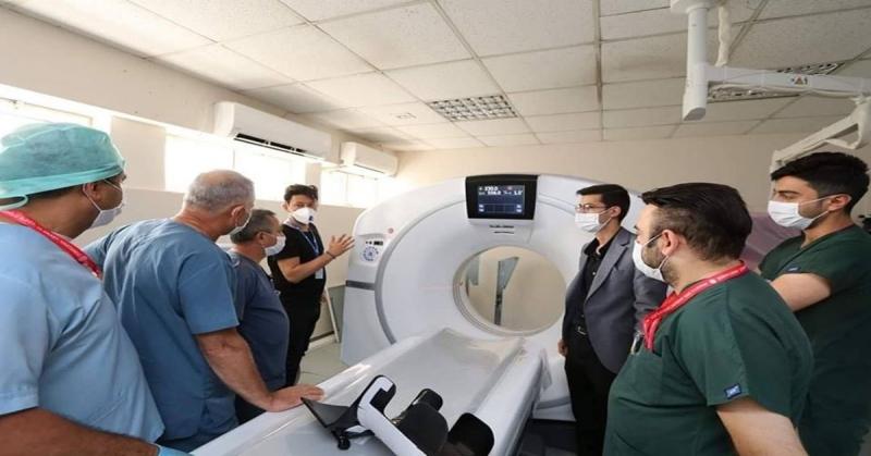 Amasya Sabuncuoğlu Şerefeddin Eğitim Araştırma Hastanesine Üst Düzey Bilgisayarlı Tomografi Cihazı Alındı