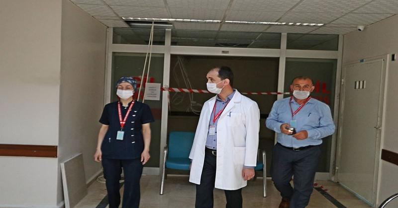 Amasya Sabuncuoğlu Şerefeddin Eğitim ve Araştırma Hastanesine Ek Yoğunbakım Ünitesi Açılıyor