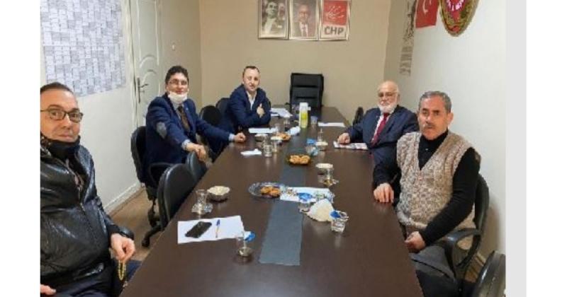 Amasya Siyasi Parti İl Başkanları, Başkan Sevindi'yi Ziyaret Etti
